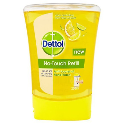 Dettol No-Touch Refill Anti-Bacterial Hand Wash, 250 ml - Citrus