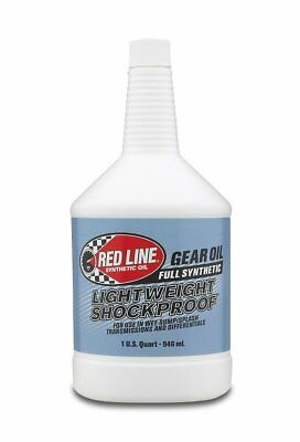 Red Line 58404 Lightweight Shockproof Gear Oil - 1 Quart Bottle