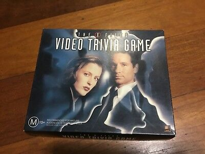 Collectable X files Video Trivia Game