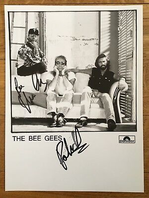 The Bee Gees - Signed Promo Picture