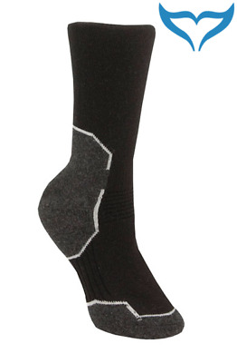 Aclima Warmwool Socken 36-39 40-43 44-48 Socks Merino Wolle Outdoor schwarz grau