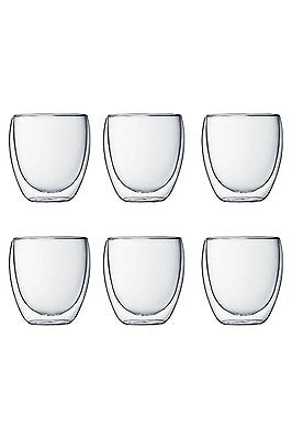 Bodum Pavina 6Pc Double Wall Thermo Glasses 250Ml Rrp$129.99