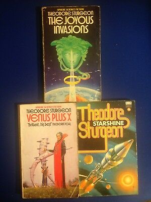 Theodore Sturgeon - Three Novels