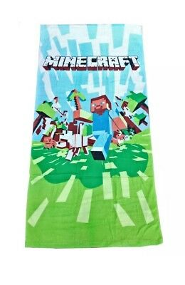 Minecraft Beach Towel! Brand New!