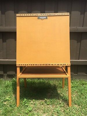 Kids Easel for Painting, Drawing, Chalkboard, Magnets & More