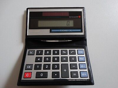 Sharp Taschenrechner pocket calculator Elsi Mate EL-351