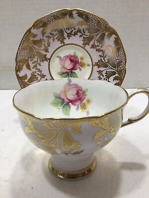 Vintage Paragon Bone China Demitasse Teacup and Saucer