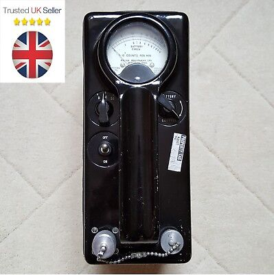 Panax Equipment Ltd UK Geiger Counter Radiation Vintage Detector made in England