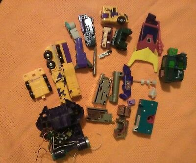 mixed lot of G1 parts transformer