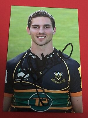 George North - Wales Rugby Player Signed 6x4 Photo