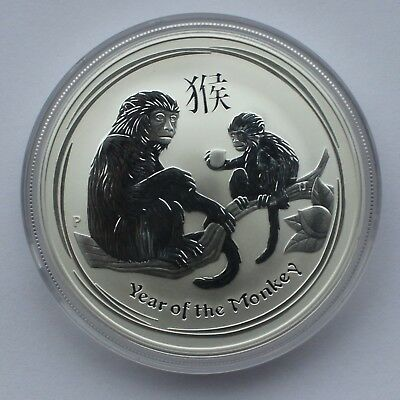 2 X 2016 Australia 1 troy oz. Lunar Monkey Silver Bullion coin - Perth Mint