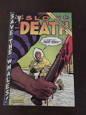 Slow Death No. 8 VG+ Underground Comix Irons Brand Stout Boxell Last Gasp 1977