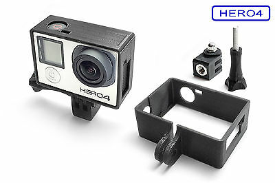 Frame Mount+Tripod Mount for GOPRO Hero 4 Black Frame Accessories Tripod Adapter