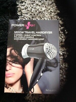 1200 HAIRDRYER HAIR STYLE DRYER FOLDABLE HANDLE NEW TRAVEL  Buy 3 Get 1 Free Wow