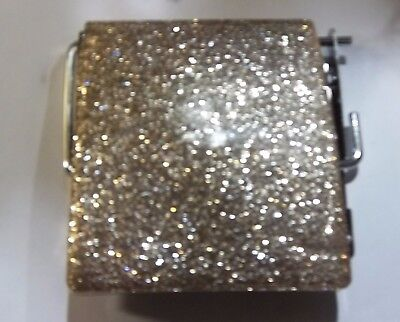 Glitter,Sparkle toilet roll holder,new with fittings.Reduced Price