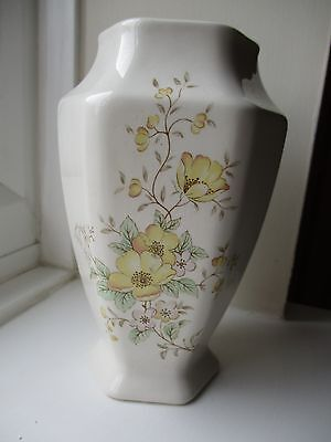Melba Ware Staffordshire Small Floral Flower Vase