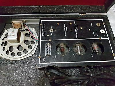 SILVERTONE TUBE AMP IN A GUITAR CASE - made in USA