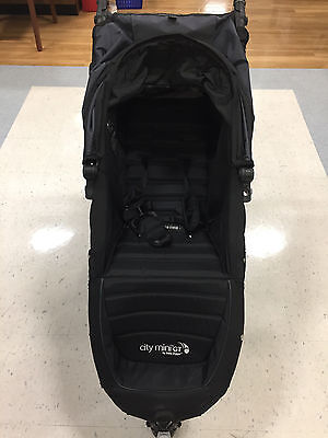 Baby  City Mini GT Black Jogger Single Seat Stroller