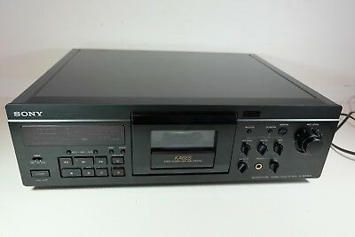 Old Vintage SONY TC-KA6ES Dolby Three Head Cassette Deck Please Read