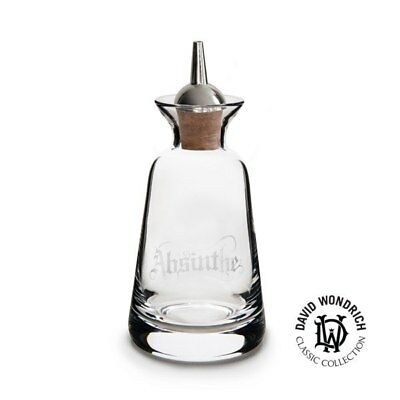 Finewell Bitters Bottle Gothic Style 90ml - Absinthe/Silver plated dasher top