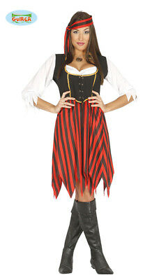 Adult Womens Halloween Pirate Costume ~ Medium