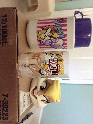 Lola Bunny Kitchenware Lot Thermos Mug Cup Space Jam