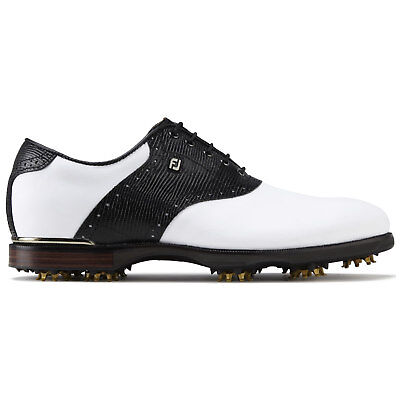 Footjoy Icon Black 2017 Golf shoes 52007 White/Black - Classic Craftsmanship