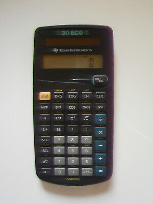 Texas Instruments, TI-30 ECO RS
