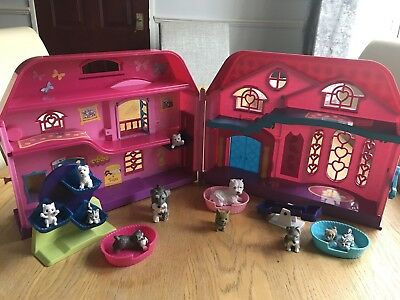 Puppy In My Pocket Playhouse & Figures