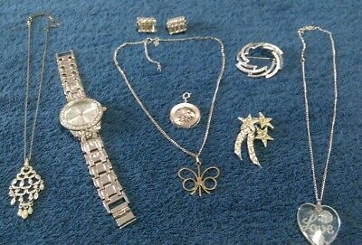 Vintage to Modern Estate Lot of Jewelry ...some signed Weiss & Monet