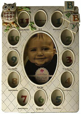 Fashioncraft Babys First Year Collage Frame