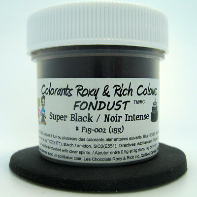 Chocolats Roxy & Rich Powder Colour - Super Black -  4 g