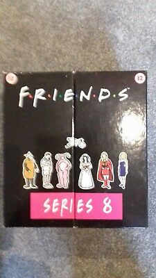 Friends Series 8 Episodes 1 to 23 VHS Box Set in original sleeve