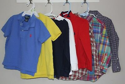 Pre-Owned POLO RALPH LAUREN Toddler BOYS 3T  LOT
