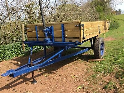 Farm Trailer, Heavy Duty, Good Condition. Recently refurbished