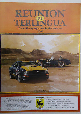 """2008 Shelby Terlingua """"Reunion at Terlingua"""" Poster - 10 Years Old Already!"""