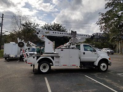 Telsta T- 40 F750 Cable Placer Bucket Boom Truck Reel Lift