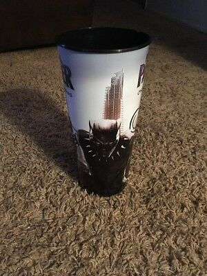 Black Panther Movie Theater Promotional Cup 44oz Brand New Free Shipping