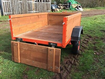 Medium size Trailer, Heavy Duty for camping, gardening. Just refurbished