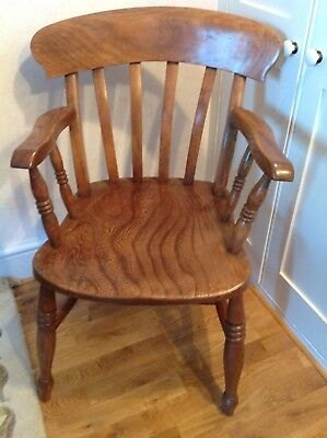 Carver Chair Oak probably early 20thc