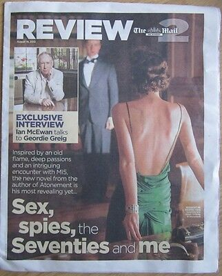 Ian McEwan - Mail on Sunday Review2 magazine – 19 August 2012
