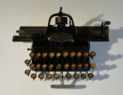 The Service Blick Antique Typewriter manufactured by the Blickensderfer Company