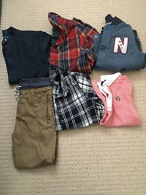 Boys bundle with jacket aged 8-9 in great condition next & m&s