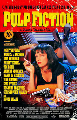 """Pulp Fiction ( 11"""" x 17"""" ) Time Cover Collector's Poster Print - B2G1F"""