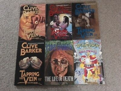 Bundle Of Clive Barker Comics-Hellraiser/tapping The Vein-Rare