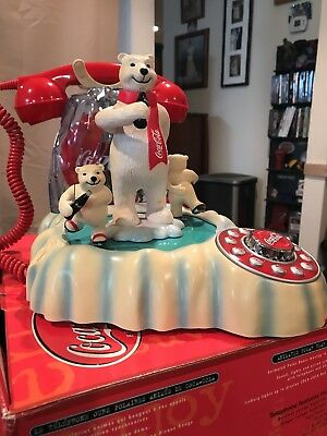 Polycocept USA, Inc. Coca Cola Animated Polar Bear Phone
