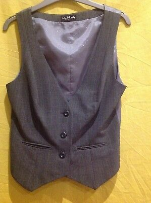 Ladies Long Tall Sally Waistcoat And Trouser Suit, Trs 12, Wct 10