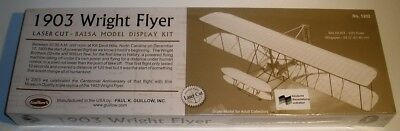 Guillow's KIT 1202 1903 Wright Flyer Balsabausatz 1:20, neu /18-2130/98