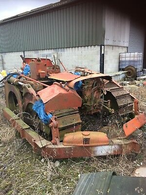 Fiat 60c Crawler, ex mod, world war 2, Tractor, Trailer