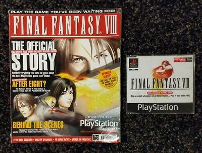 Final Fantasy VIII Special Official UK Playstation Magazine with Demo (1999) FF8